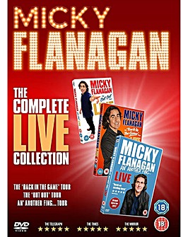 Mickey Flanagan Live Collection DVD