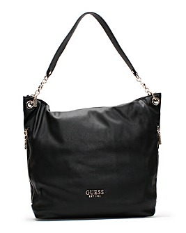 Guess G Pebbled Hobo Bag