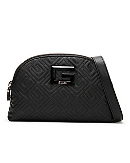 Guess Janay Quilted Cross-Body Bag