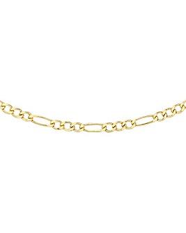 9 Carat Gold Figaro Chain