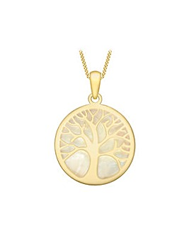9 Carat Gold Tree of Life Pendant