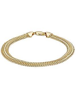 9 Carat Gold Slinky Bracelet