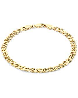 9 Carat Gold Link Bracelet