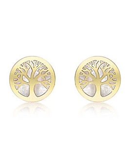 9 Carat Gold Tree of Life Earrings