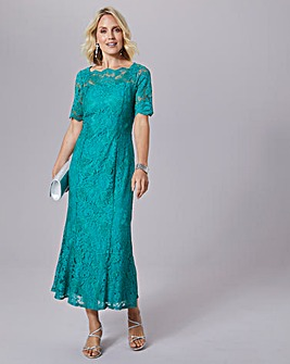 Julipa Stretch Scalloped Lace Dress