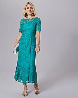 Julipa Stretch Scalloped Lace Dress