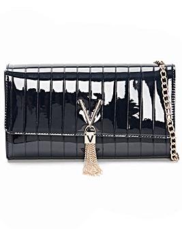 Valentino Bags Bongo Patent Moc Croc Pochette Bag