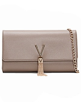 Valentino By Mario Valentino Divina Pebbled Clutch Bag