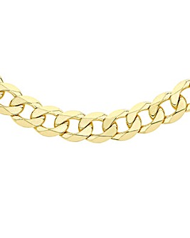 Gents 9 Carat Gold Curb Chain