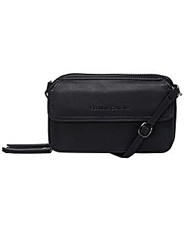 Claudia Canova Zip Round Purse / Cross