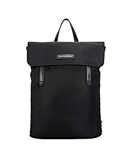 Smith & Canova Nylon Flapover Backpack