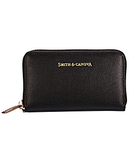 Smith & Canova Small Saffiano Leather