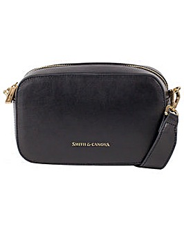 Smith & Canova Bella Zip Top E/w Cross Body