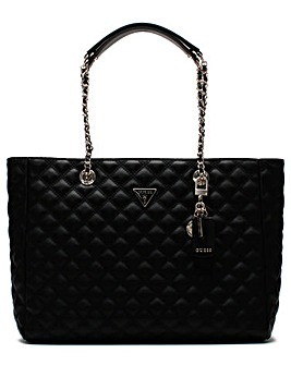 Guess Cessily Quilted Tote Bag