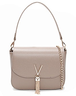 Valentino By Mario Valentino Divina Large Pebbled Shoulder Bag