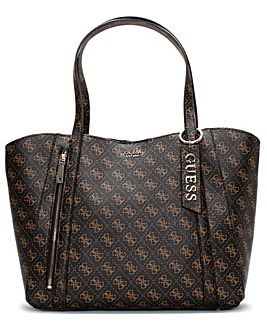 Guess Naya Trap Logo Tote Bag