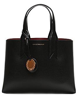 Emporio Armani Contrast Tote Bag