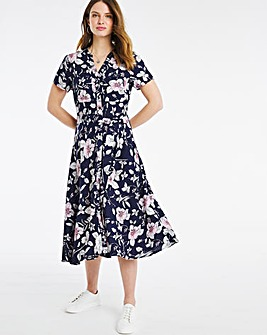 Julipa Printed Shirt Dress