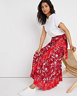 Joe Browns Mixed Printed Wrap Skirt