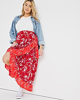 Joe Browns Mixed Printed Wrap Skirt