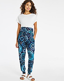 Joe Browns Printed Hareem Jersey Trousers
