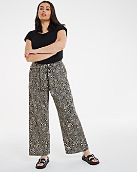 Joe Browns Printed Wide Leg Trousers