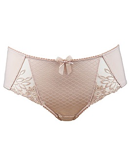 Pour Moi Hepburn Embroidered Mid Brief