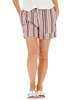 Stripe Linen Rich Shorts