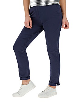 Comfort Stretch Turn Up Chino Trousers