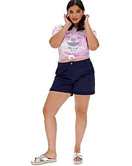 Comfort Stretch Turn up Chino Shorts