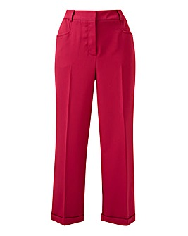 Berry Camilla Everyday Crop Trousers