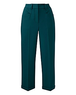 Dark Green Camilla Everyday Trousers