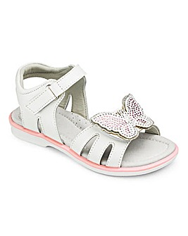 TKD Girls Butterfly Sandals