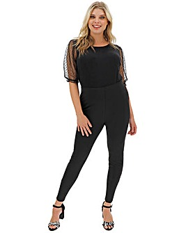 Zip Hem Detail Shaper Leggings