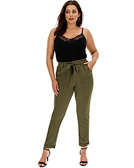 Luxe Fashion Cargo Trousers Regular