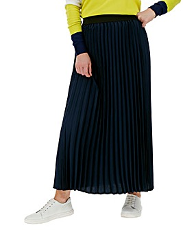 Sunray Pleated Maxi Skirt