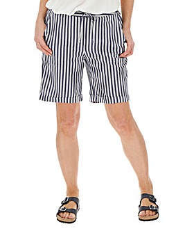 Stripe Easy Care Line Mix Shorts