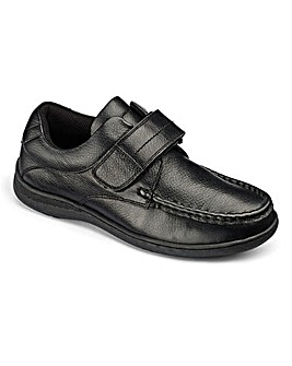 Alex Single T&C Strap School Shoes G Fit