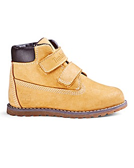 Timberland Pokey Pine Hook and Loop Boot