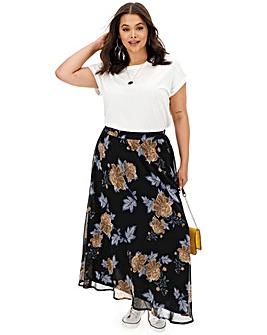 Floaty Georgette Maxi Skirt