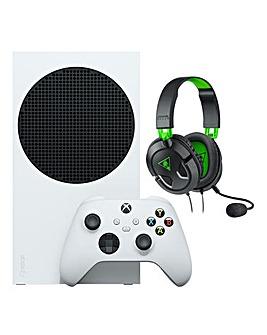 Xbox Series S + Turtle Beach 50X Headset