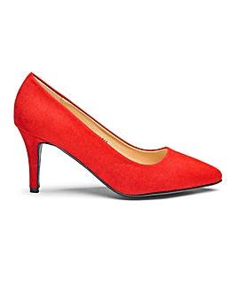 Heavenly Soles Court Shoes E Fit
