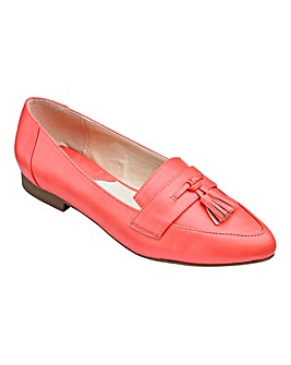 Heavenly Soles Tassel Shoes Wide E Fit