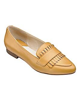 Heavenly Soles Fringe Shoes Wide E Fit