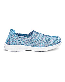 Stretch Slip On Shoes E Fit
