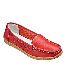Heavenly Soles Loafers Wide E Fit