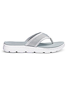 Toe Post Leisure Mule Sandals E Fit