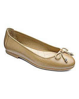 Heavenly Soles Ballerina Shoes Wide E Fit