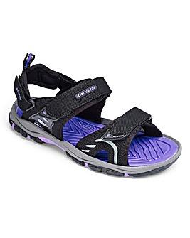 Dunlop Sports Sandals Wide E Fit