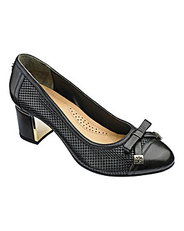 Van Dal Bow Trim Court Shoes Standard D Fit